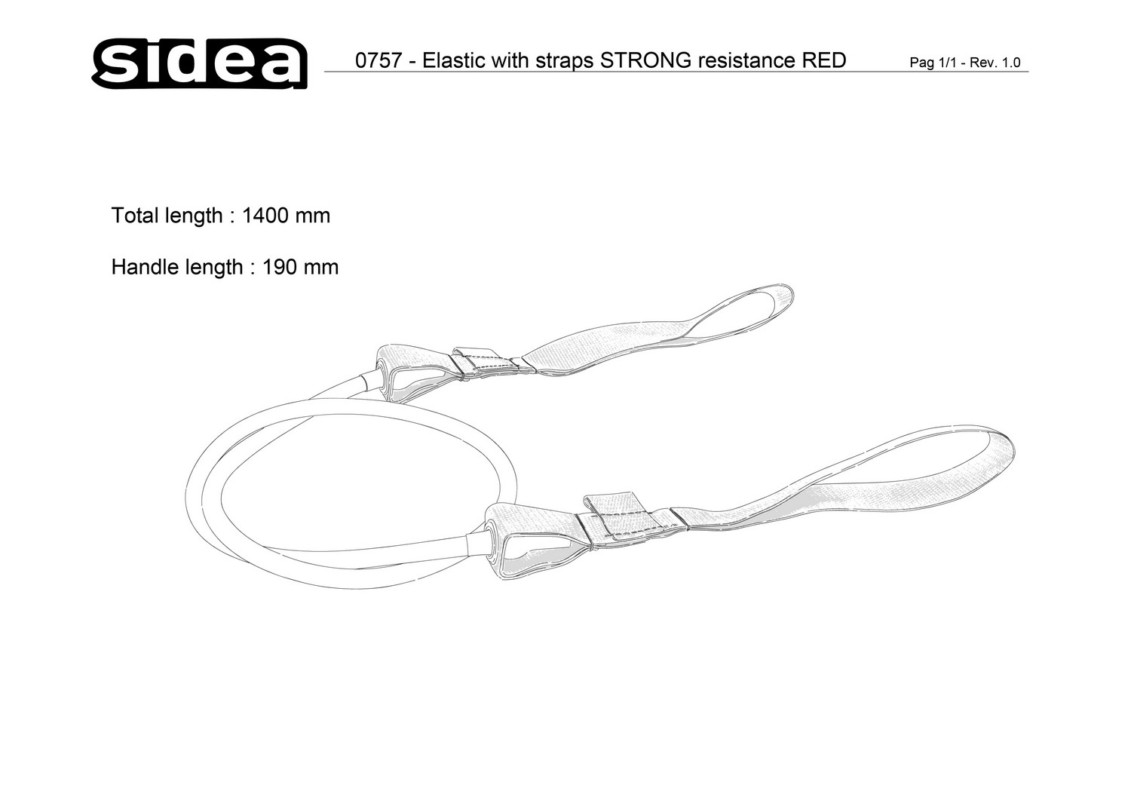 0757 Elastic with straps