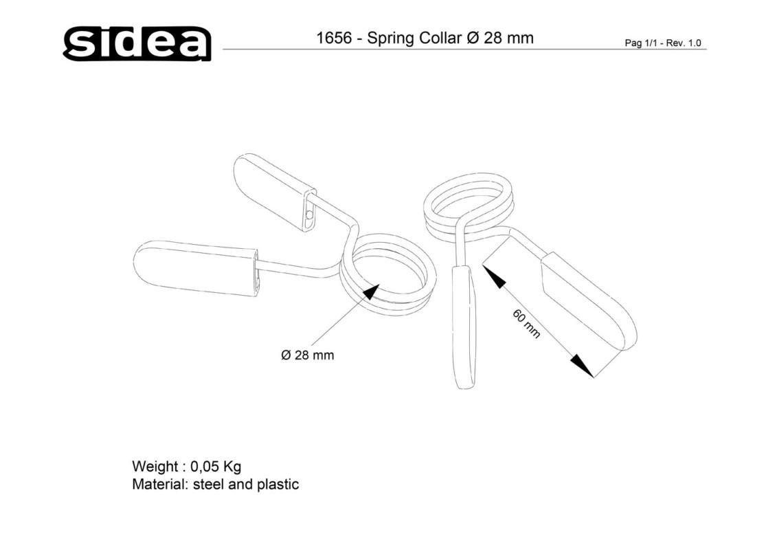 1656 Spring Collar Ø 28 mm