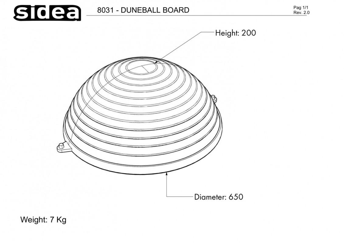 8031 - Duneball Board