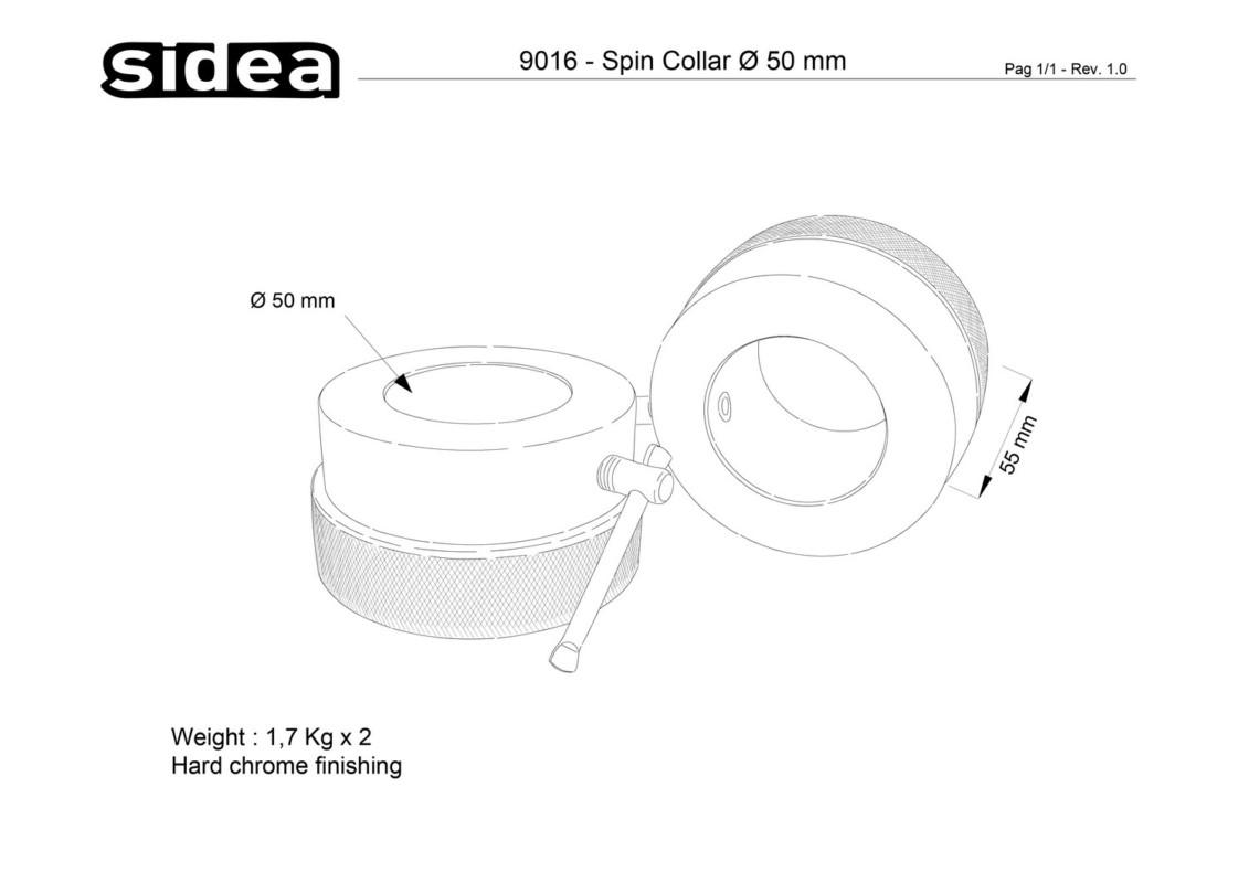 9016 Spin Collar Ø 50 mm