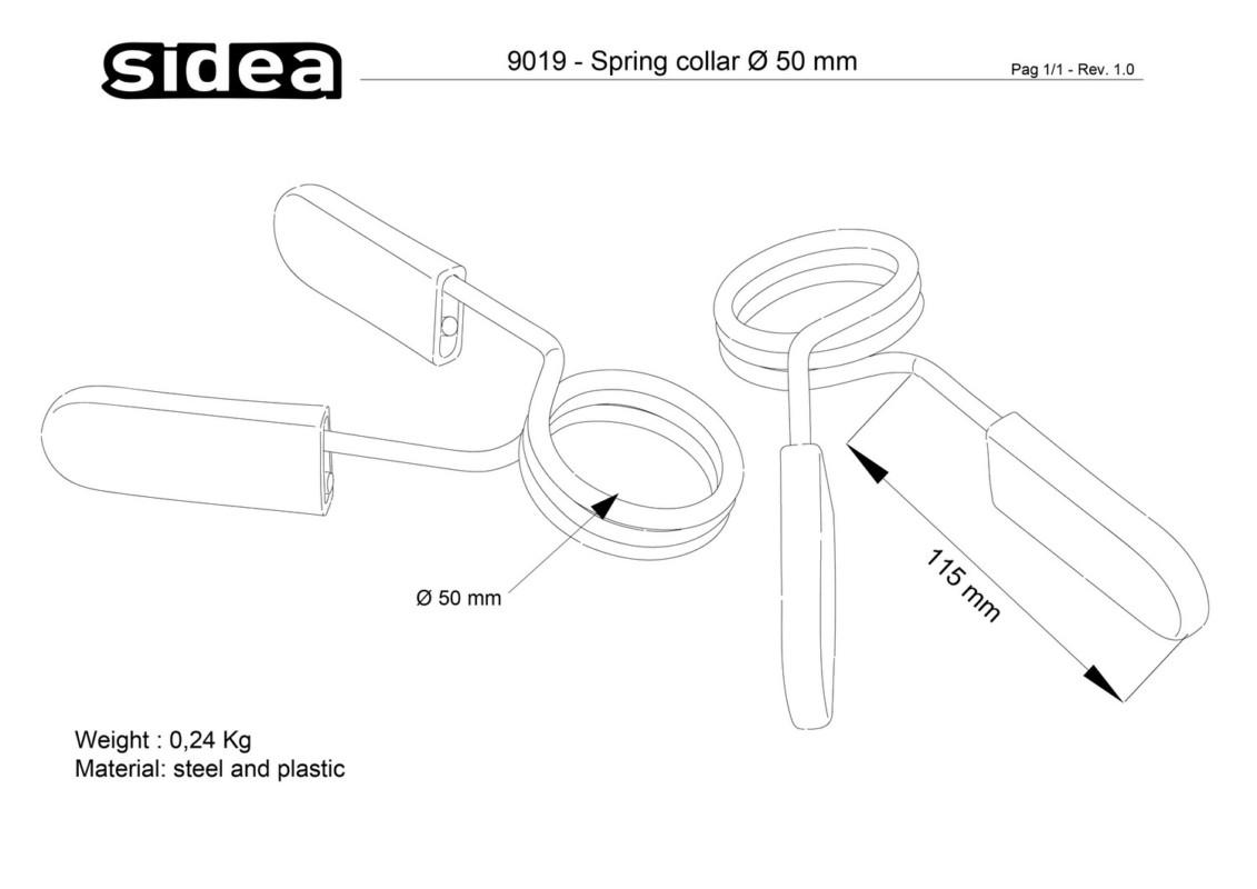 9019 Spring Collar Ø 50 mm