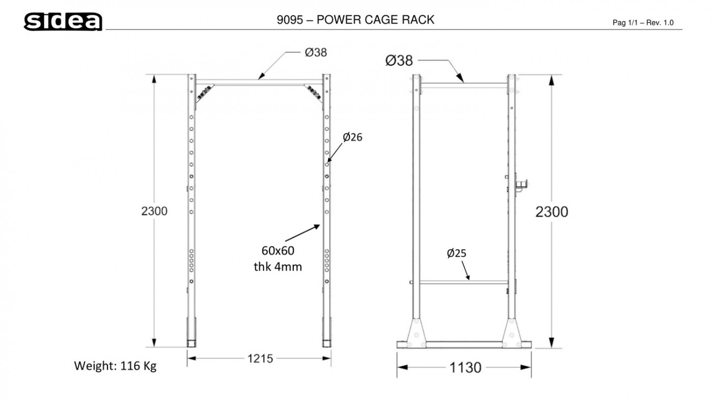 9095 - Power Cage Rack-1