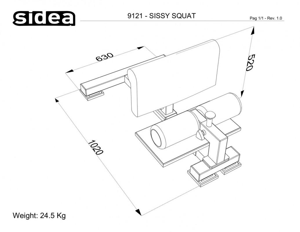 9121 - Sissy Squat