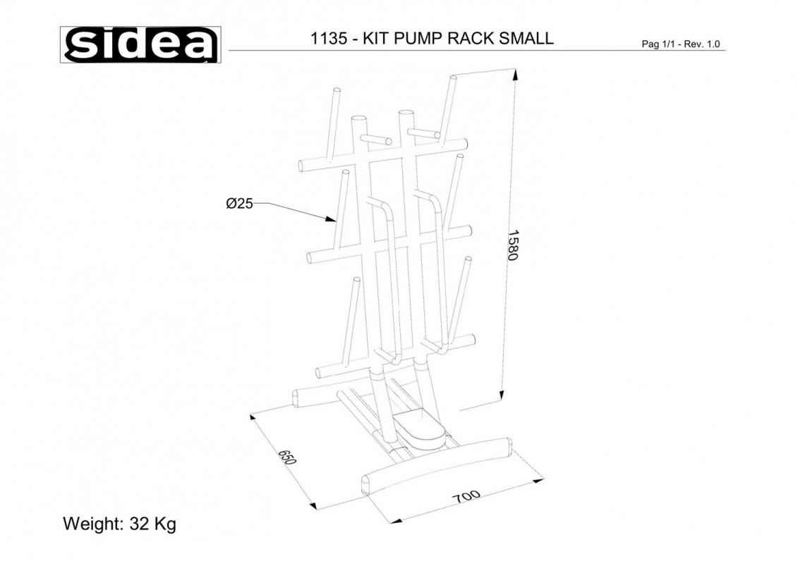 1135 - Kit Pump Rack Small-1