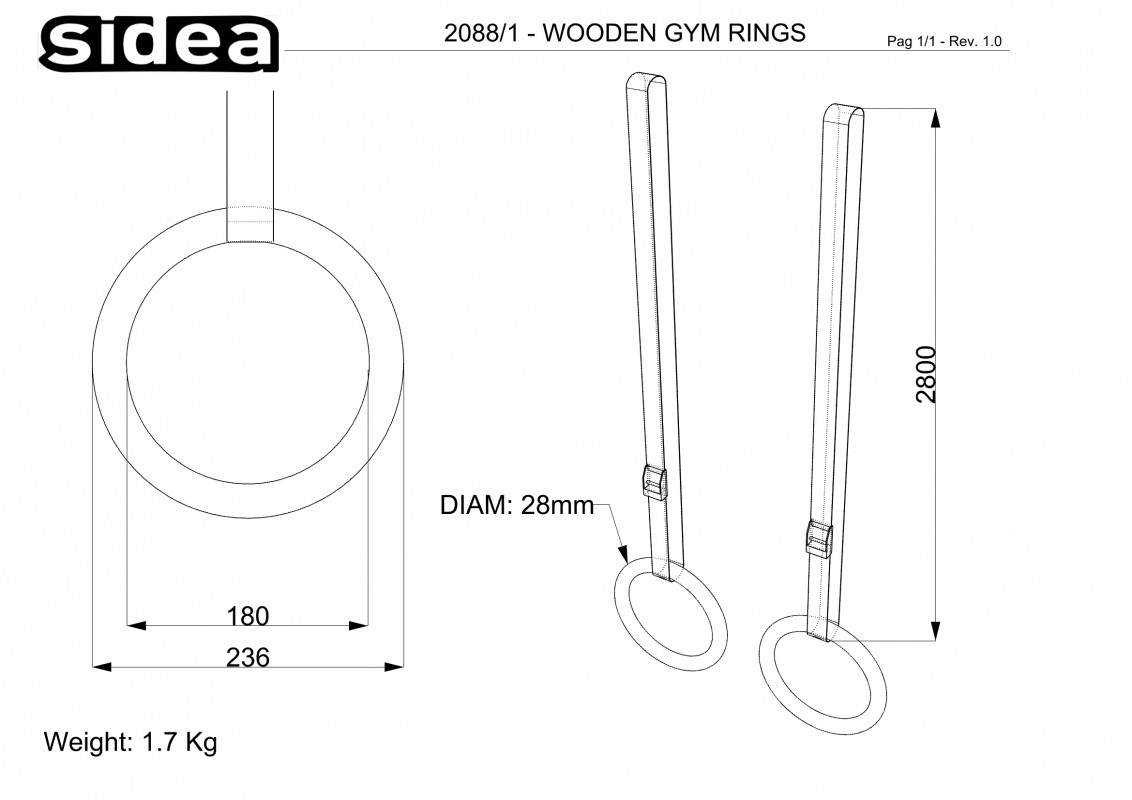 2088/1 Wooden Ring
