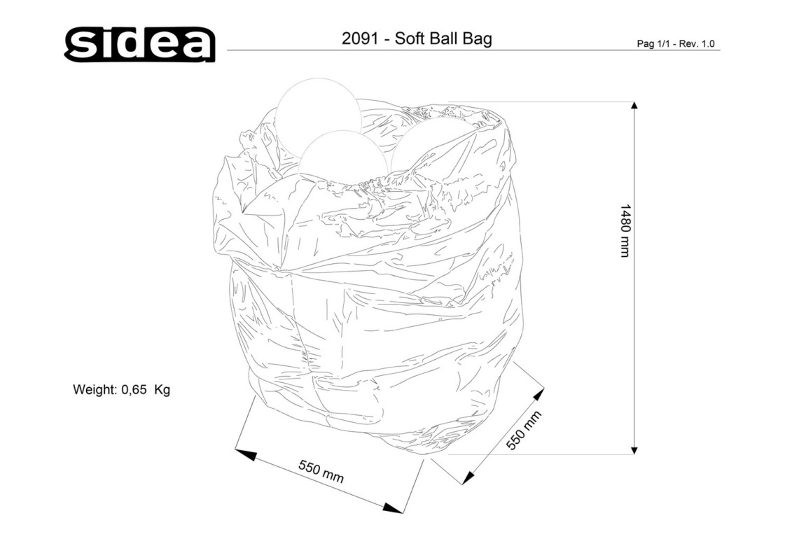 2091 Soft Ball Bag
