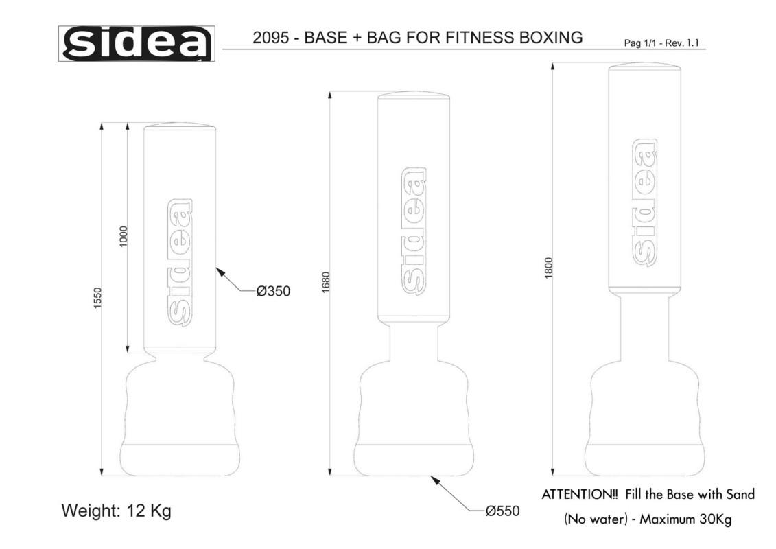 2095 Base-Bag Fitness Boxing