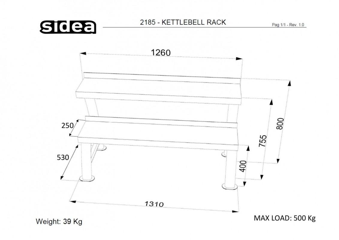 2185 - Kettlebell Rack-1