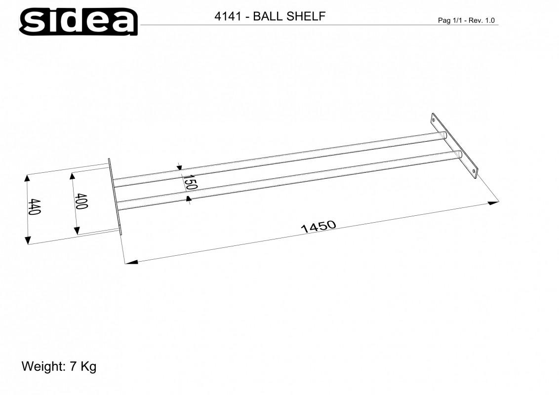 Balls Shelf