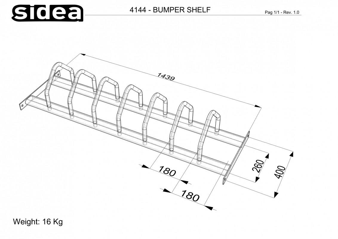 Bumpers Shelf