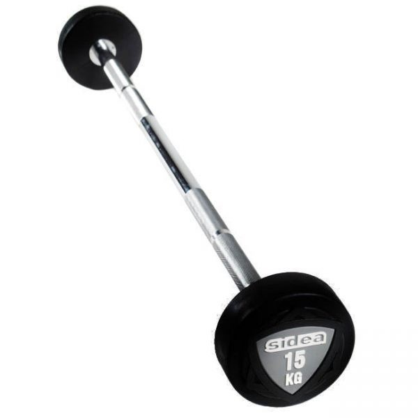 8710-8745 Preloaded Fixed Rubber Barbells