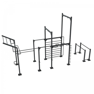 9090 Calisthenics rack model 1