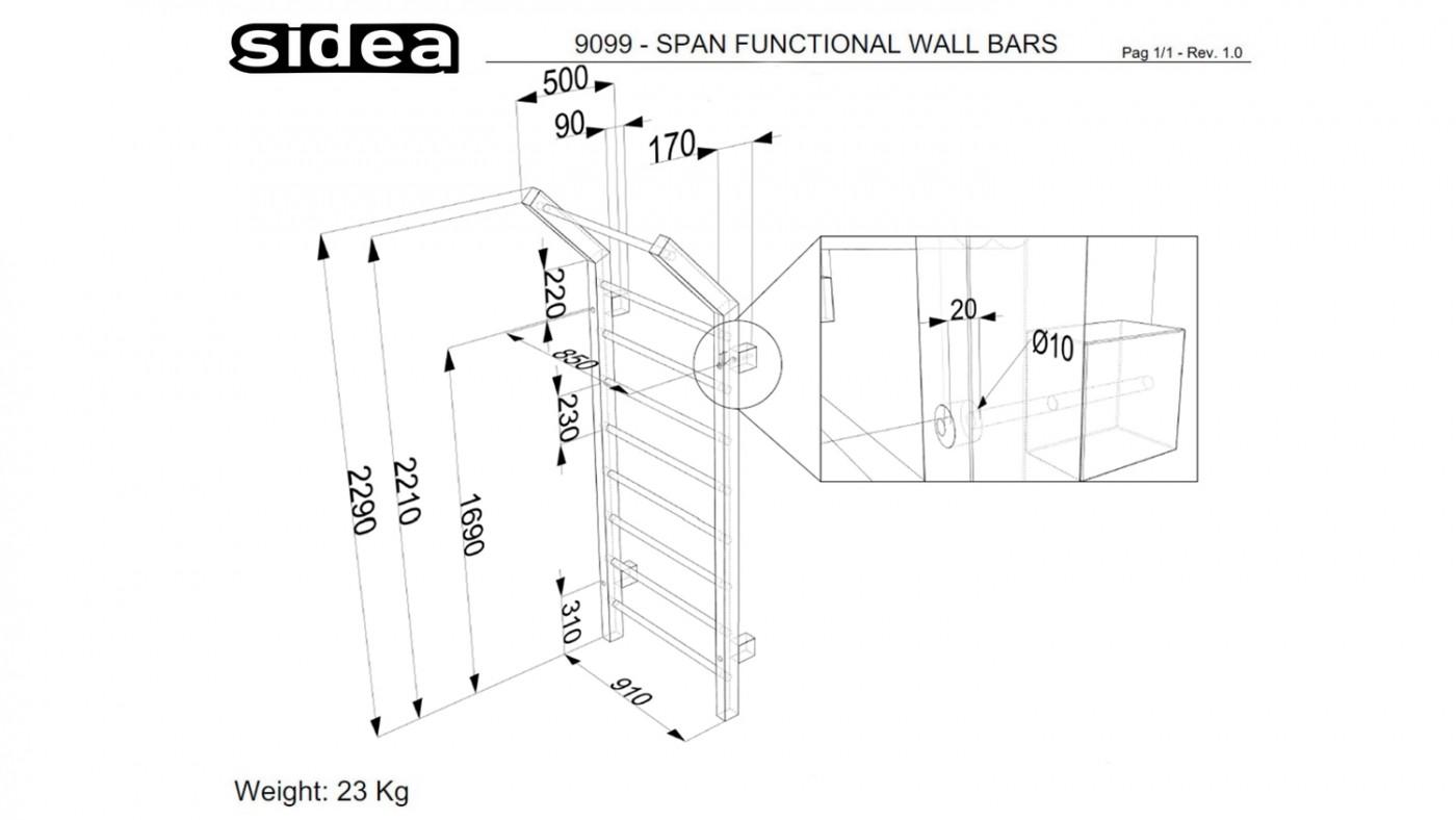 9099 - Span Functional Wall Bars-11