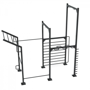 9090 Calisthenics rack model 3