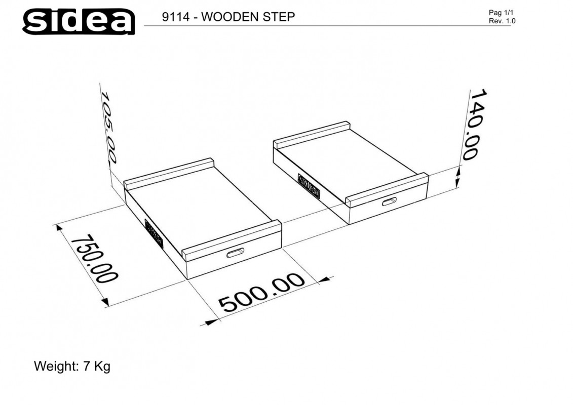 9114 - Wooden Step-1