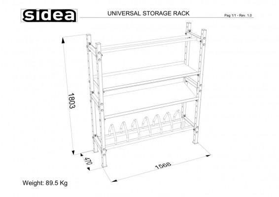 4145 - Universal Storage Rack