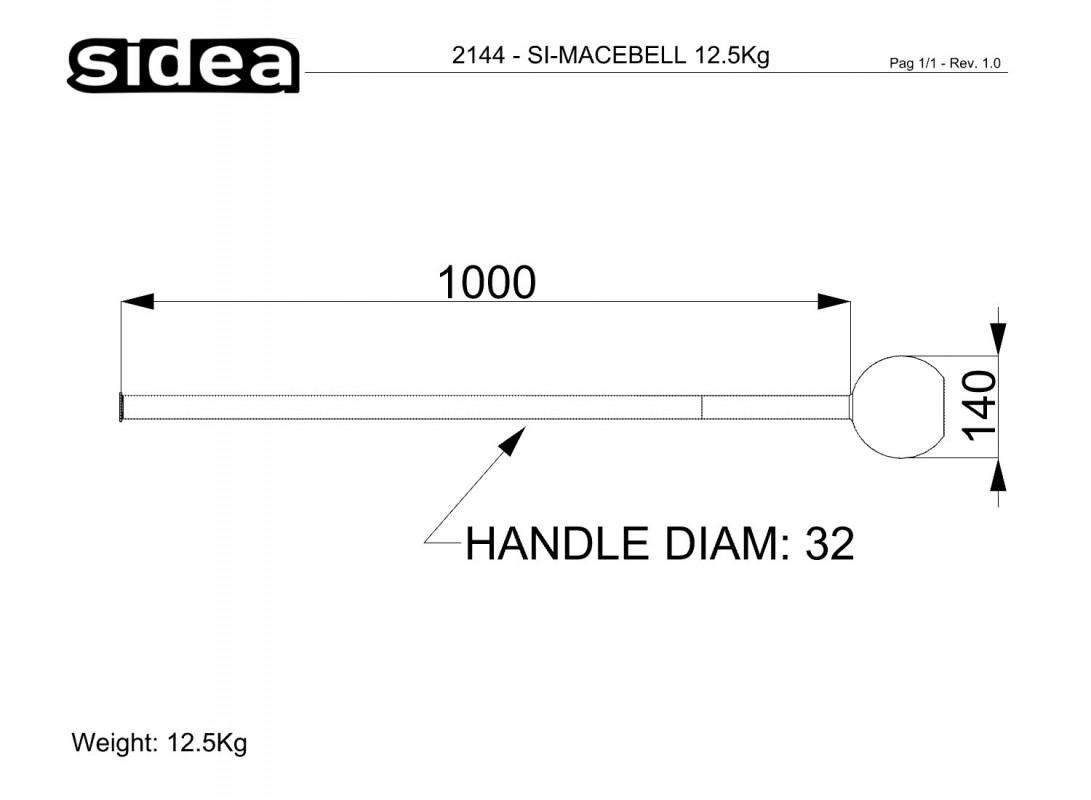 SIDEA SiMacebell 10 kg