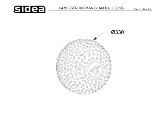 strongman slam ball
